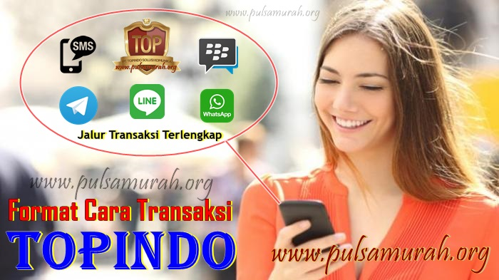 format-transaksi-pulsa-murah-topindo Format Cara Transaksi TOPINDO Pulsa